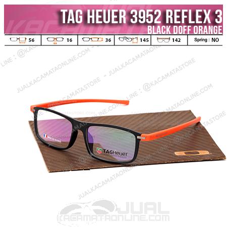 Jual Kacamata Minus 3952 Reflex 3 Black Orange