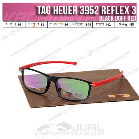 Kacamata Minus 3952 Reflex 3 Black red