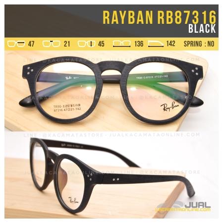 Jual Frame Kacamata Rayban RB87316 Black