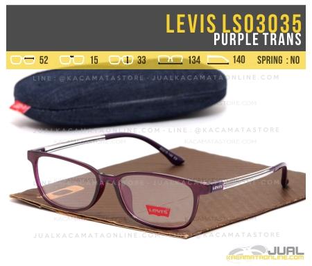 Jual Kacamata Minus Levis Ls03035 Purple Trans