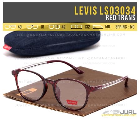 Trend Kacamata Minus Levis Ls03034 Red Trans
