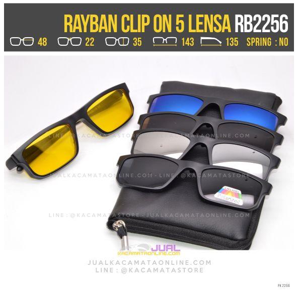 jual kacamata minus warna rayban rb2256
