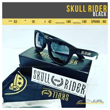 Model Kacamata Skull Rider Jorge Lorenzo Black