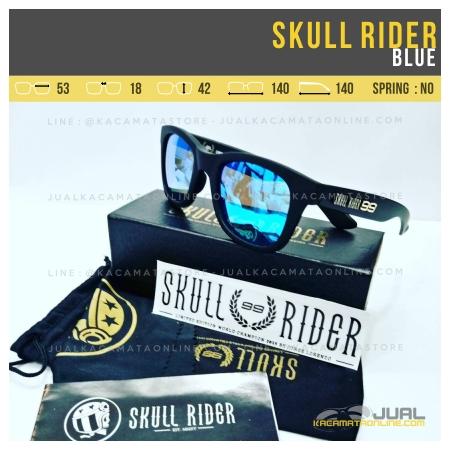 Gambar Kacamata Skull Rider Jorge Lorenzo Blue