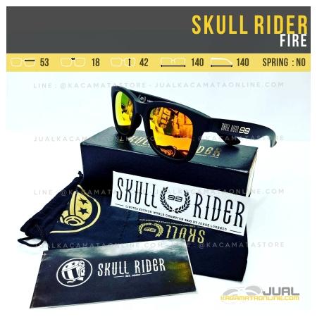 Harga Kacamata Skull Rider Jorge Lorenzo Fire