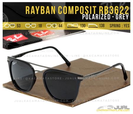 Model Kacamata Rayban Terbaru Rb3622 Grey