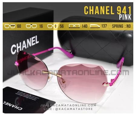 Gambar Kacamata Terbaru Untuk Wanita Chanel 941 Pink