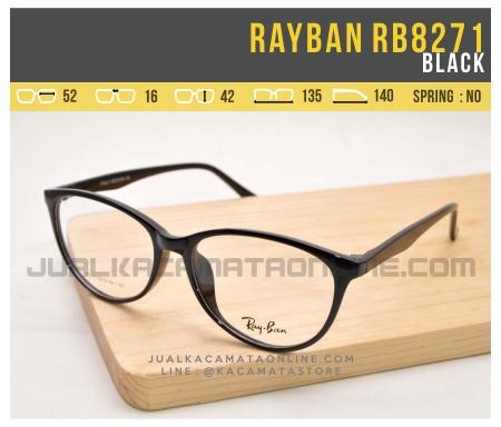 Grosir Kacamata Minus Wanita Rayban RB8271 Black