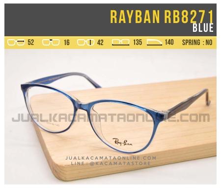 Gambar Kacamata Minus Wanita Rayban RB8271 Blue