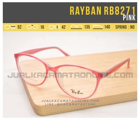 Model Kacamata Minus Wanita Rayban RB8271 Pink