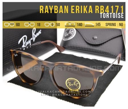 Gambar Kacamata Rayban Erika Terbaru RB4171 Tortoise