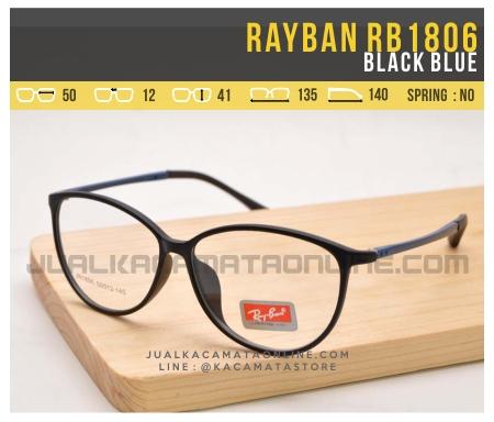Grosir Kacamata Minus Terbaru Rayban RB1806 Black Blue