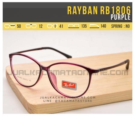 Trend Kacamata Minus Terbaru Rayban RB1806 Purple