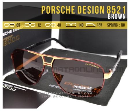 Jual Kacamata Gaya Terbaru Porsche Design 8521 Brown