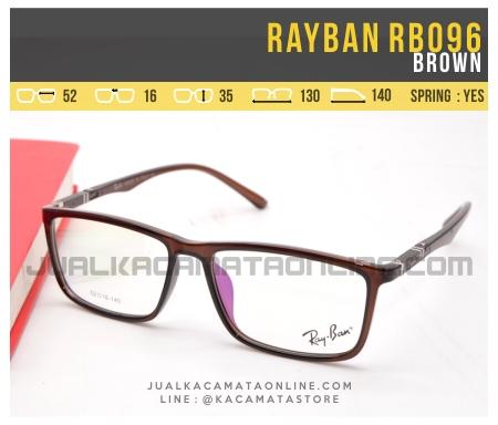 Gambar Kacamata Minus Terbaru Rayban RB096 Brown