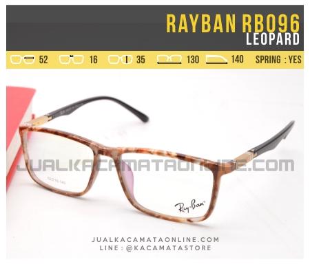 Model Kacamata Minus Terbaru Rayban RB096 Leopard