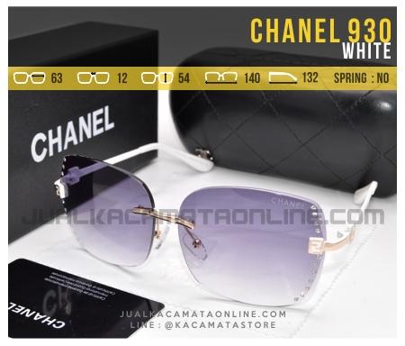 Model Kacamata Terbaru Untuk Cewek Chanel 930 White