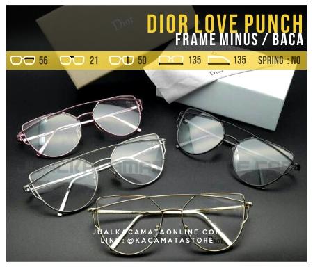 Jual Frame Kacamata Dior Love Punch Terbaru Murah