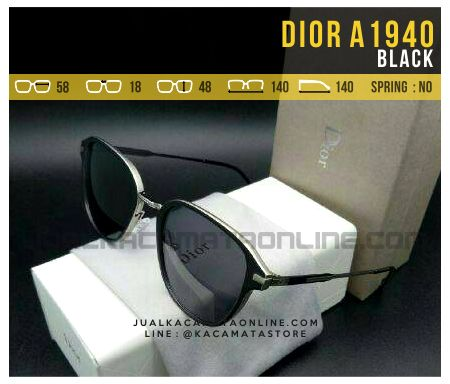 Harga Kacamata Fashion Dior A1940 Black