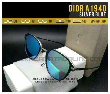 Jual Kacamata Fashion Dior A1940 Silver Blue