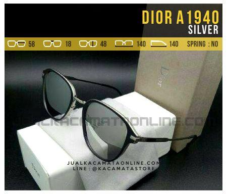 Model Kacamata Fashion Dior A1940 Silver