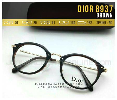 Model Kacamata Minus Wanita Dior 8937 Brown