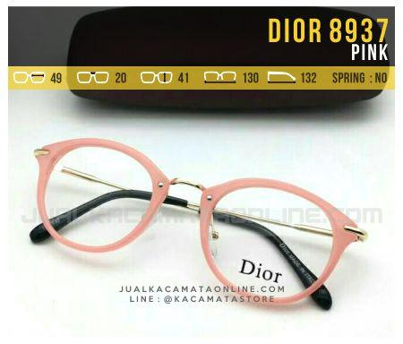 Jual Kacamata Minus Wanita Dior 8937 Pink