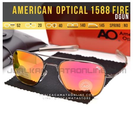 Gambar Kacamata Pilot American Optical Aviator 1588 Fire Dgun
