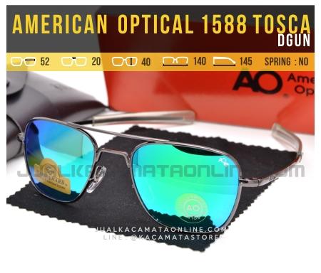 Toko Kacamata Pilot American Optical Aviator 1588 Tosca Dgun