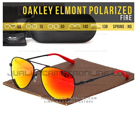 Model Kacamata Pria Terbaru Oakley Elmont Fire
