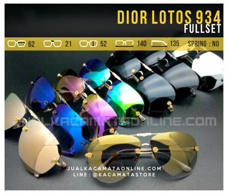 Jual Kacamata Wanita Dior Lotos 934 Terbaru