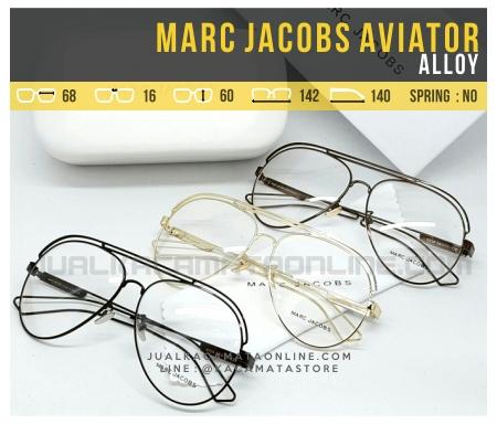 Model Kacamata Optik Terbaru Marc Jacobs Aviator Alloy