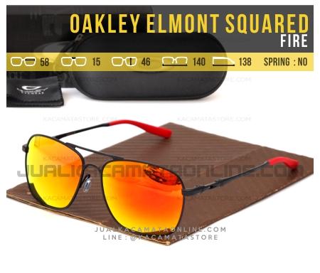 Jual Kacamata Pria Terbaru Oakley Elmont Squared Fire