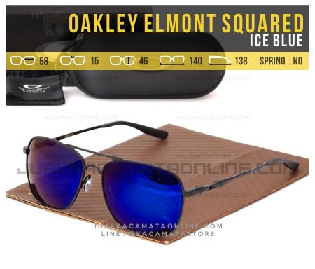 Model Kacamata Pria Terbaru Oakley Elmont Squared Ice Blue