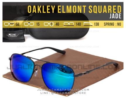 Gambar Kacamata Pria Terbaru Oakley Elmont Squared Jade