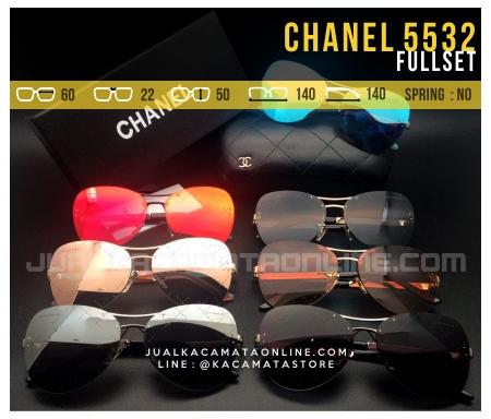 Model Kacamata Terbaru 2017 Chanel 5532 Fullset