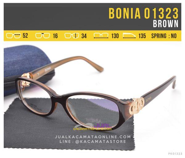 Jual Kacamata Minus Untuk Wanita Bonia 01323 Brown