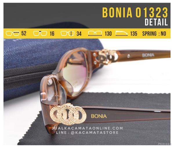 Gambar Kacamata Minus Untuk Wanita Bonia 01323 Plastik