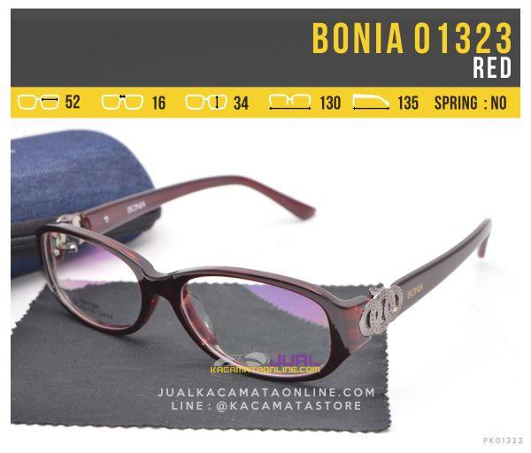 Frame Kacamata Minus Untuk Wanita Bonia 01323 Red