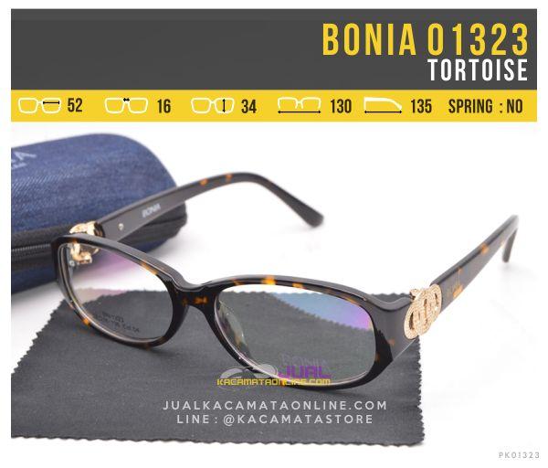 Model Kacamata Minus Untuk Wanita Bonia 01323 Tortoise