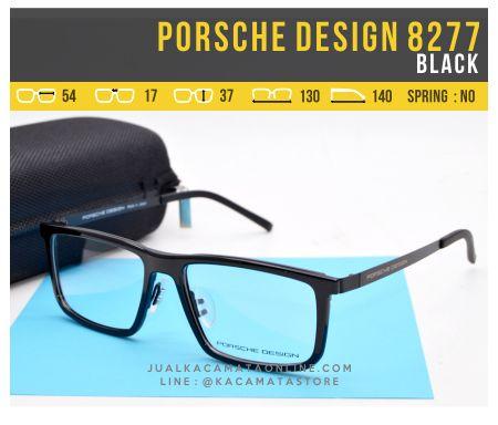 Jual Frame Kacamata Baca Porsche Design 8277 Black