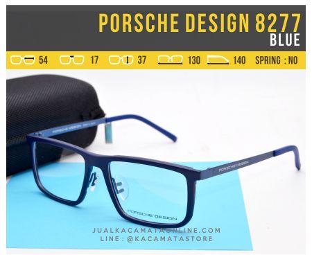 Harga Frame Kacamata Minus Porsche Design 8277 Blue