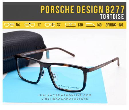 Model Frame Kacamata Baca Porsche Design 8277 Tortoise