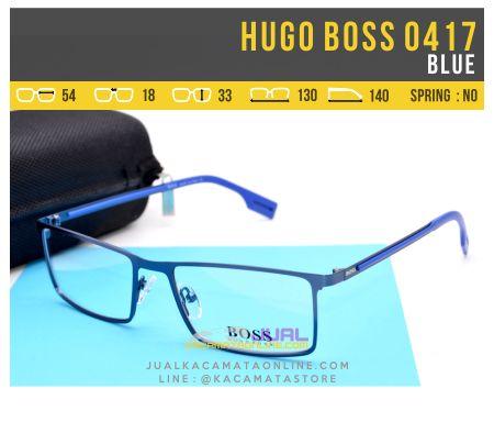 Frame Kacamata Pria Hugo Boss 0417 Blue
