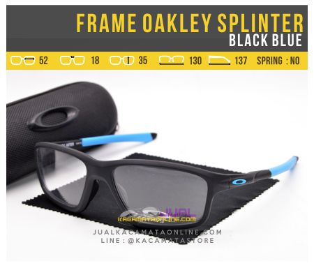Harga Frame Kacamata Oakley Splinter OX8080 Black Blue