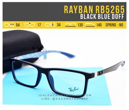 Frame Kacamata Murah Rayban RB5262 Blue Doff