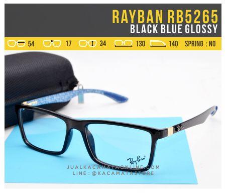 Frame Kacamata Murah Rayban RB5262 Blue Glossy