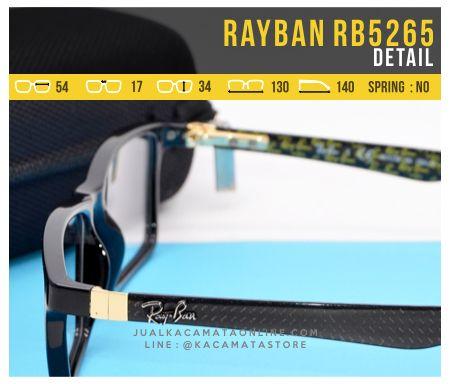 Frame Kacamata Rayban RB5262 Detail