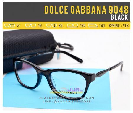 Frame Kacamata Baca Dolce Gabbana 9048 Black