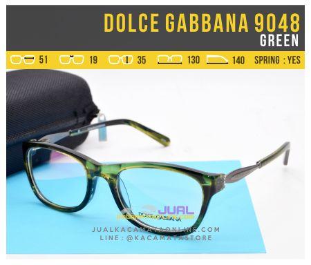 Gambar Kacamata Wanita Dolce Gabbana 9048 Green